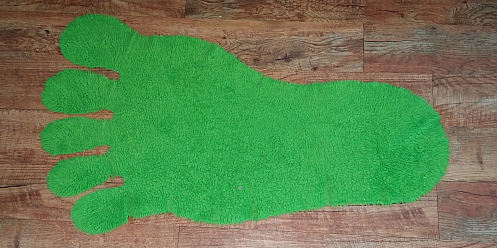 The foot rug